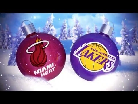 NBA 2K14: Heat vs Lakers Christmas Day (HD)