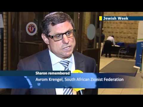 South Africa's Jewish community honours the memory of iconic Israeli leader Ariel Sharon