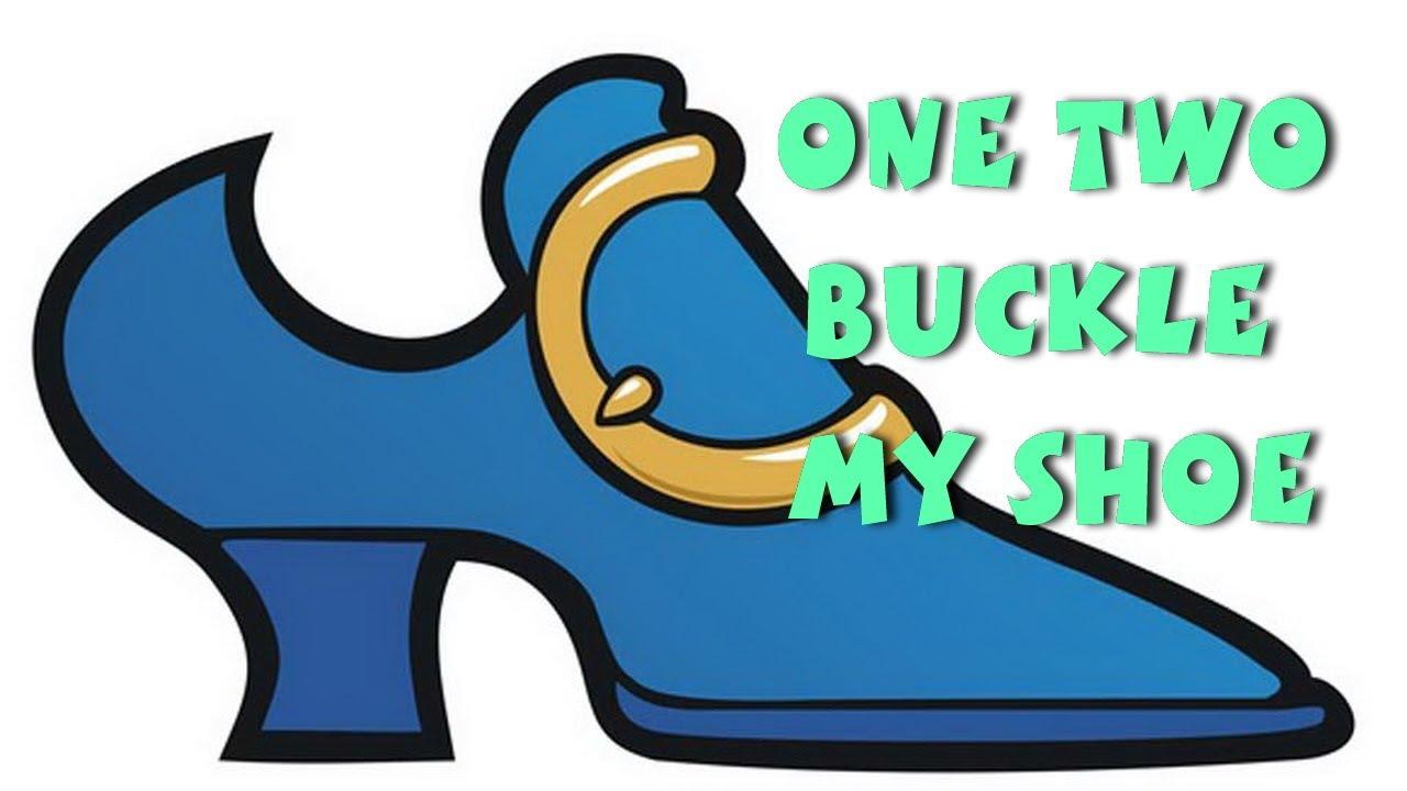 One two buckle my shoe nursery rhymes with lyrics youtube for 1 2 buckle my shoe 3 4 shut the door