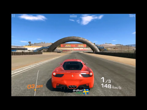 Real Racing 3 Ferrari 458 Italia Apple Iphone Gameplay HD
