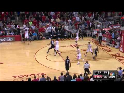 Omer Asik, Houston Rockets inbound clutch defense