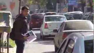 Mașină de partid (liberal) cu șofer libertin, ilegal