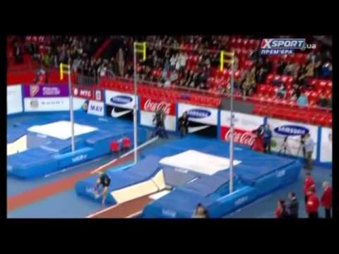 Renaud Lavillenie failed WR attempt at 6.21m