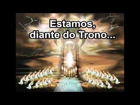 Estamos Diante do Trono - Débora Ivanov (Cantado e Legendado)