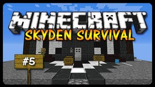 Minecraft SkyDen: SEED OF THE DESERT! (Ep. 5)