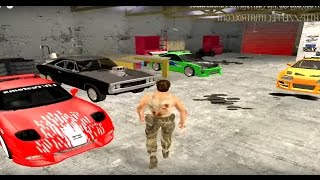 GTA San Andreas The Fast And The Furious Cars.avi