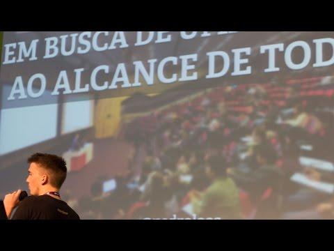 Pedro Loos: Em Busca de uma Ciência ao Alcance de Todos (Campus Party 2015)