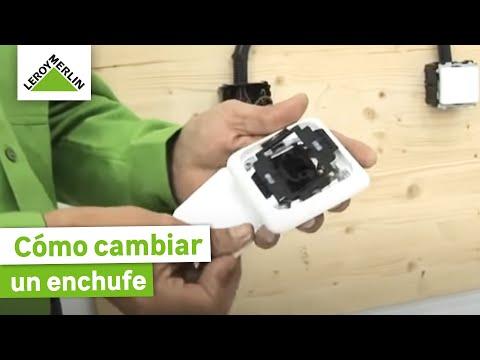 Cambiar un mecanismo el ctrico leroy merlin youtube - Leroy merlin interruptores ...