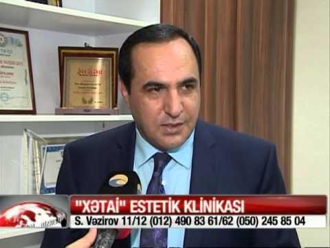 Manaf Agayev Sac Ekimi Müsahibe - Xetai Estetik Klinika