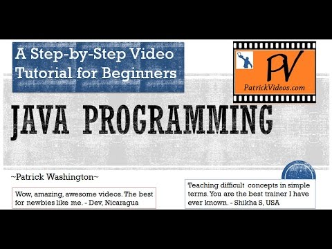 Java Programming - Step by Step tutorial - YouTube