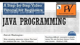 Java Programming - Step by Step tutorial view on youtube.com tube online.