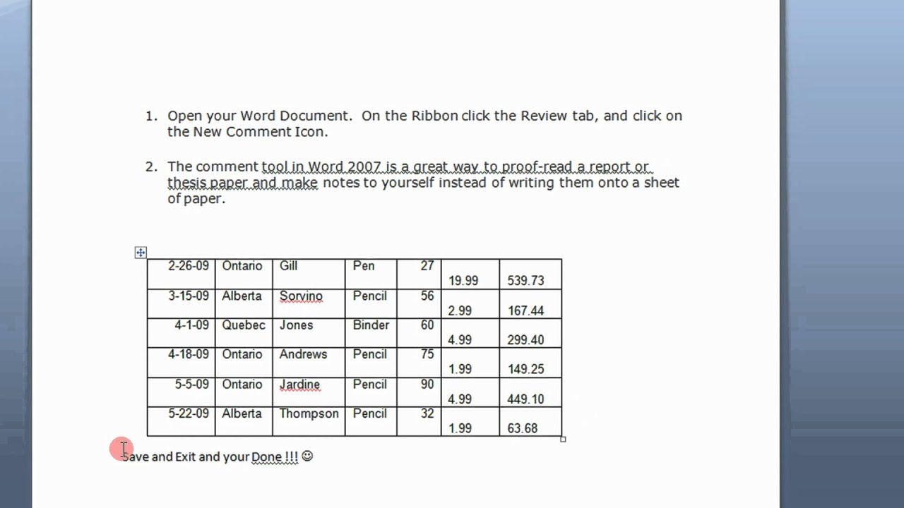 use smart tags in word 2007  u0026 2010 to resume or restart numbered lists step by step tutorial