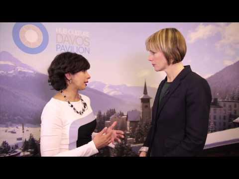 WEF Davos 2014 Hub Culture Interview with Seema Kumar