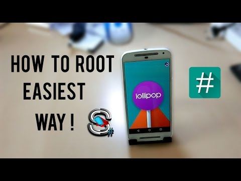 How To Root Moto G 1st and 2nd Gen  Running Android Lollipop 2015 !