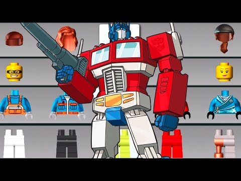 LEGO Juniors Create & Cruise Vs Transformers Rescue Bots Dash - Fun Way To Play Games