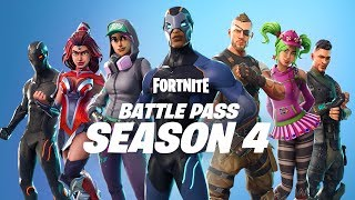 Fortnite - Season 4 Battle Pass