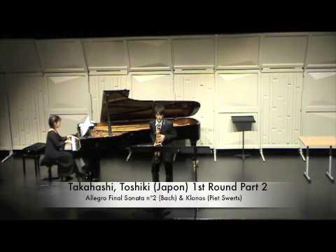 Takahashi, Toshiki Japon 1st Round Part 2