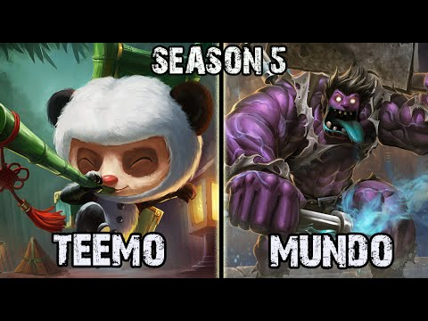 Scarra As Teemo Vs Kayle Top League Of Legends S6 Teemo