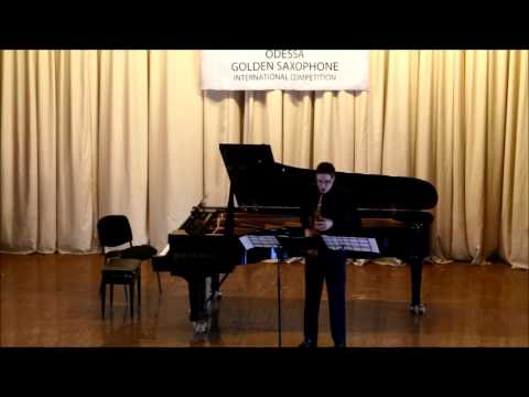 Golden Saxophone 2015 – Grzegorz Bil – Lutte by Thierry Escaich