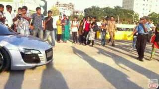 Chiyaan Vikram and his Audi R8 Car