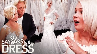 Bride Wants a Body Hugging Dress that Also Hides Her Colostomy Bag! | Say Yes To The Dress UK