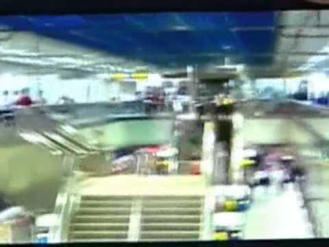 江子翠捷運站隨機砍人站內追捕畫面