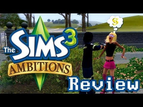 LGR - The Sims 3 Ambitions Review - YouTube