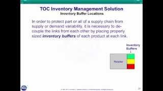 TOC For Inventory Management Overview