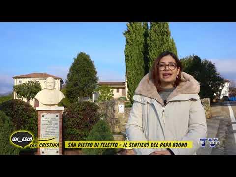 Un_esco con Cristina - San Pietro di Feletto - Il sentiero del Papa Buono