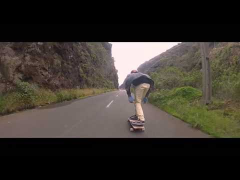 Madeira Longboard - EDGAR GARCES Raw Run