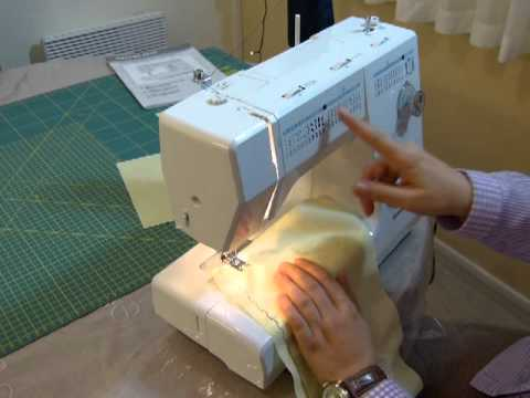 Masina de cusut silvercrest partea 4 5 youtube for Silvercrest macchina da cucire