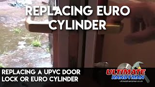 How to change a euro cylinder