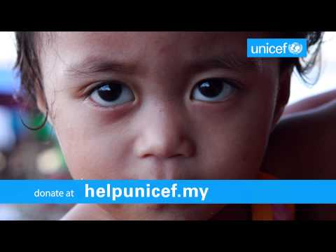 UNICEF Typhoon Haiyan Children's Emergency Appeal