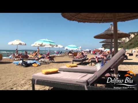 Corfu Delfino Blu Boutique Hotel BEACH [HD] by Alexandros Analitis