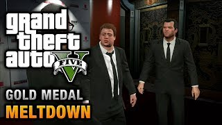 GTA 5 Mission #71 Meltdown [100% Gold Medal