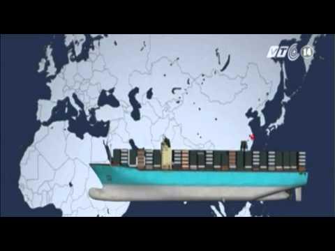 VTC14_Tàu chở hàng lớn nhất TG sẽ hoạt động vào mùa hè này