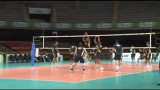 Brazil's Volleyball Training