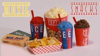Movie Theater Snacks : How To Make Miniature Popcorn, Icee