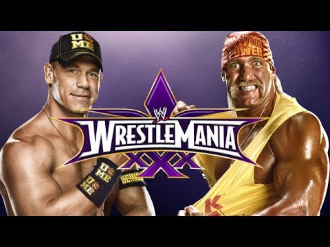 WWE 2K14 - Hulk Hogan vs John Cena (Wrestlemania 30)