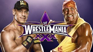 WWE 2K14 Hulk Hogan Vs John Cena (Wrestlemania 30)