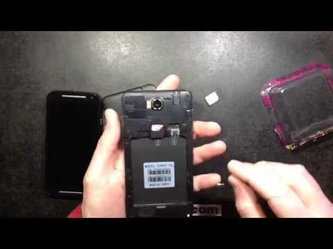 How to free a stuck SIM card adapter / adaptor.