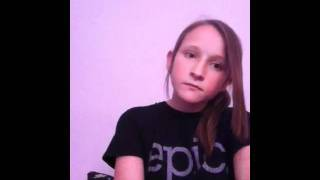 12 Year Old Girl Singing Titanium