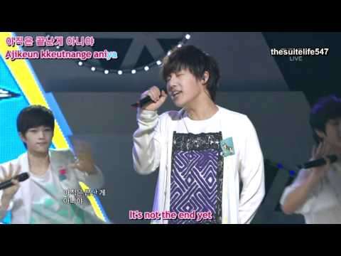 Infinite - Nothing's Over [Music Core] (11.04.30) {Hangul, Romanization, Eng Sub}