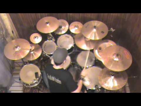 Jesse - Quatro por Um - Espirito Enche a Minha Vida (Drum Cover em HD)