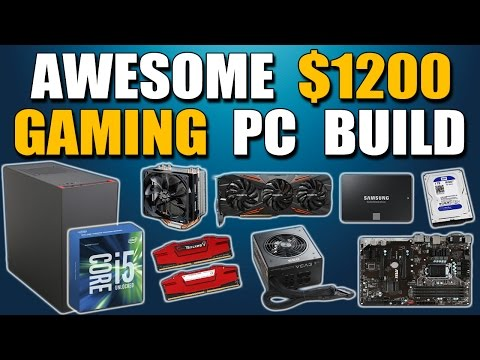 how to build a pc 2016