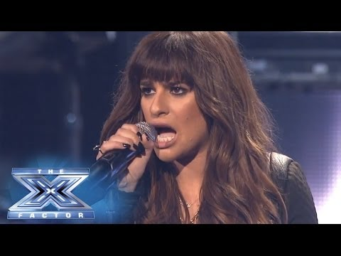 "Finale: Lea Michele Performs ""Cannonball"" - THE X FACTOR USA 2013"
