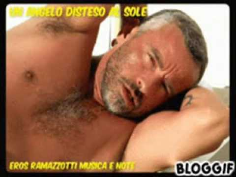 EROS RAMAZZOTTI UN ANGELO DISTESO AL SOLE