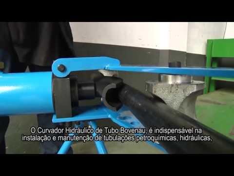 Curvador Hidráulico de Tubos - BOVENAU