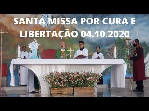 Santa Missa por Cura e Libertação | 04.10.2020 | Domingo | Padre José Sometti | ANSPAZ