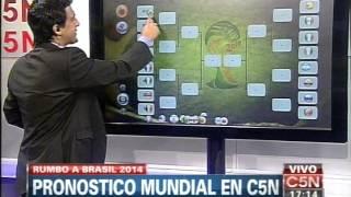 C5N FUTBOL: PRONOSTICO PARA EL MUNDIAL 2014